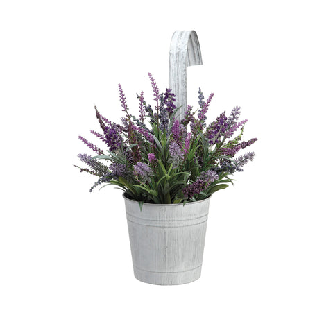 Hanging Lavender Pot with Hook!