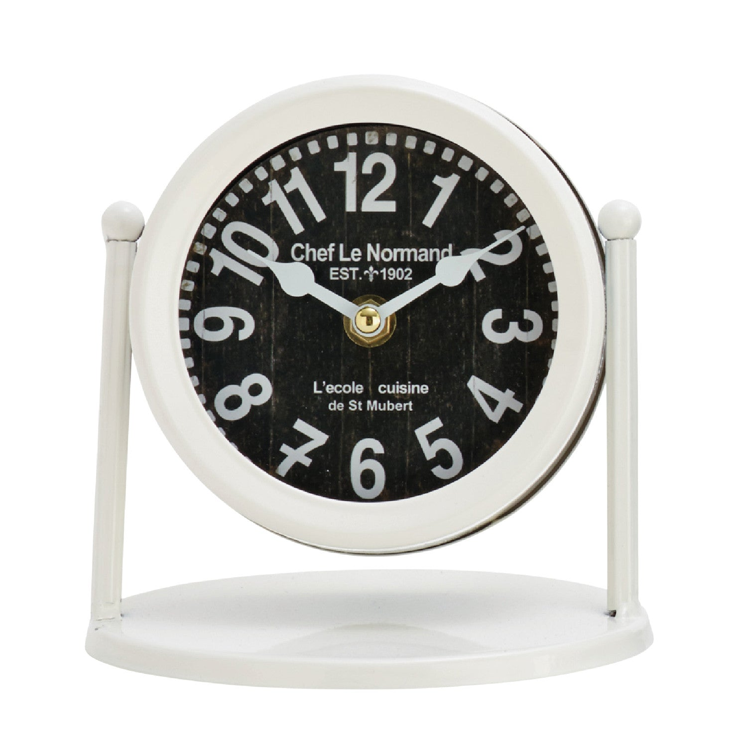 Tasteful & Timely Table Clocks