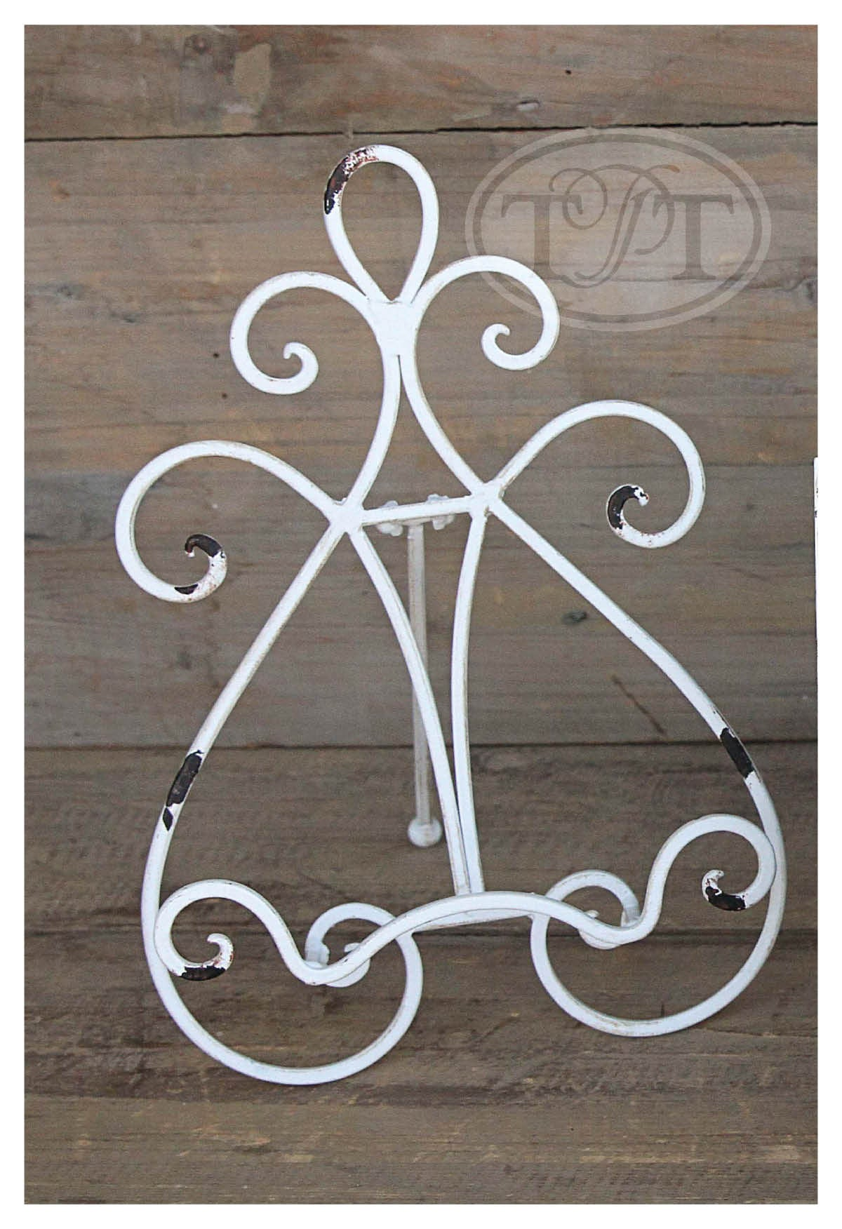 Swirled Metal Easel Stands!