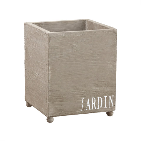 Handsomely Distressed Jardin Wood Garden Boxes!