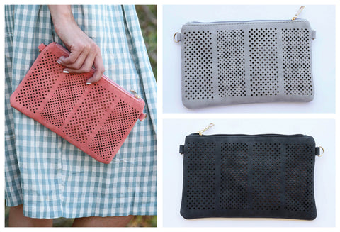 Adorable Perf Design Clutches
