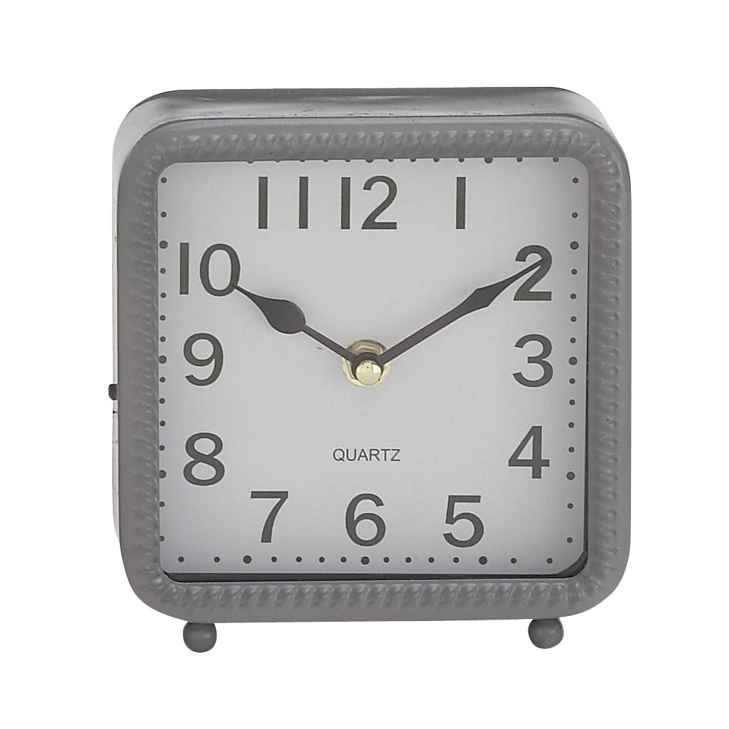 Square Metal Table Clocks!