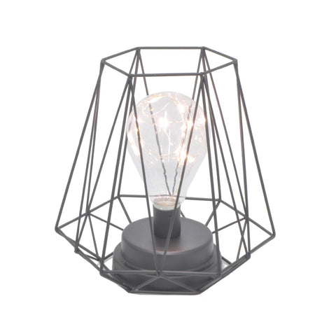 LED metal Lamp in Classic Black