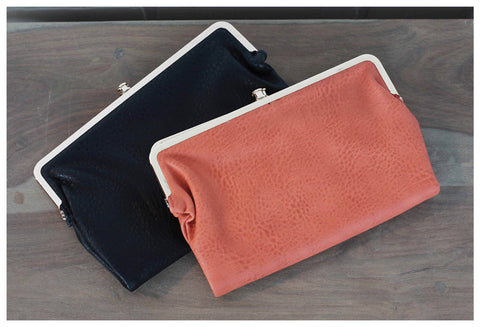 Simply Stylish Wallets in Black & Ginger