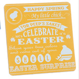 Easter Words Signs