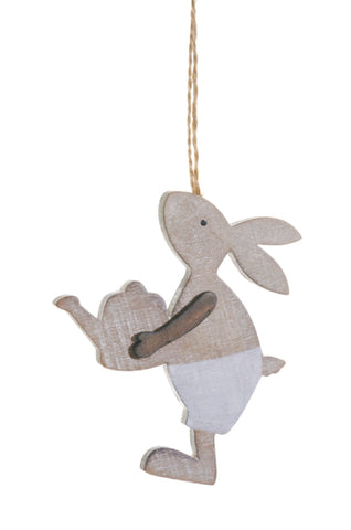 "4"" Hanging Walking Bunny!"
