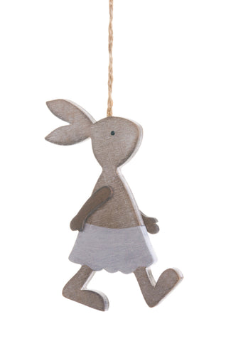 "5"" hanging Walking Bunny!"