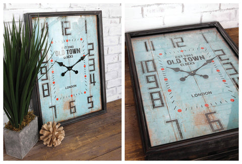 OLD TOWN Iron Wall Clock