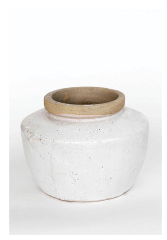 Ceramic Vases in White