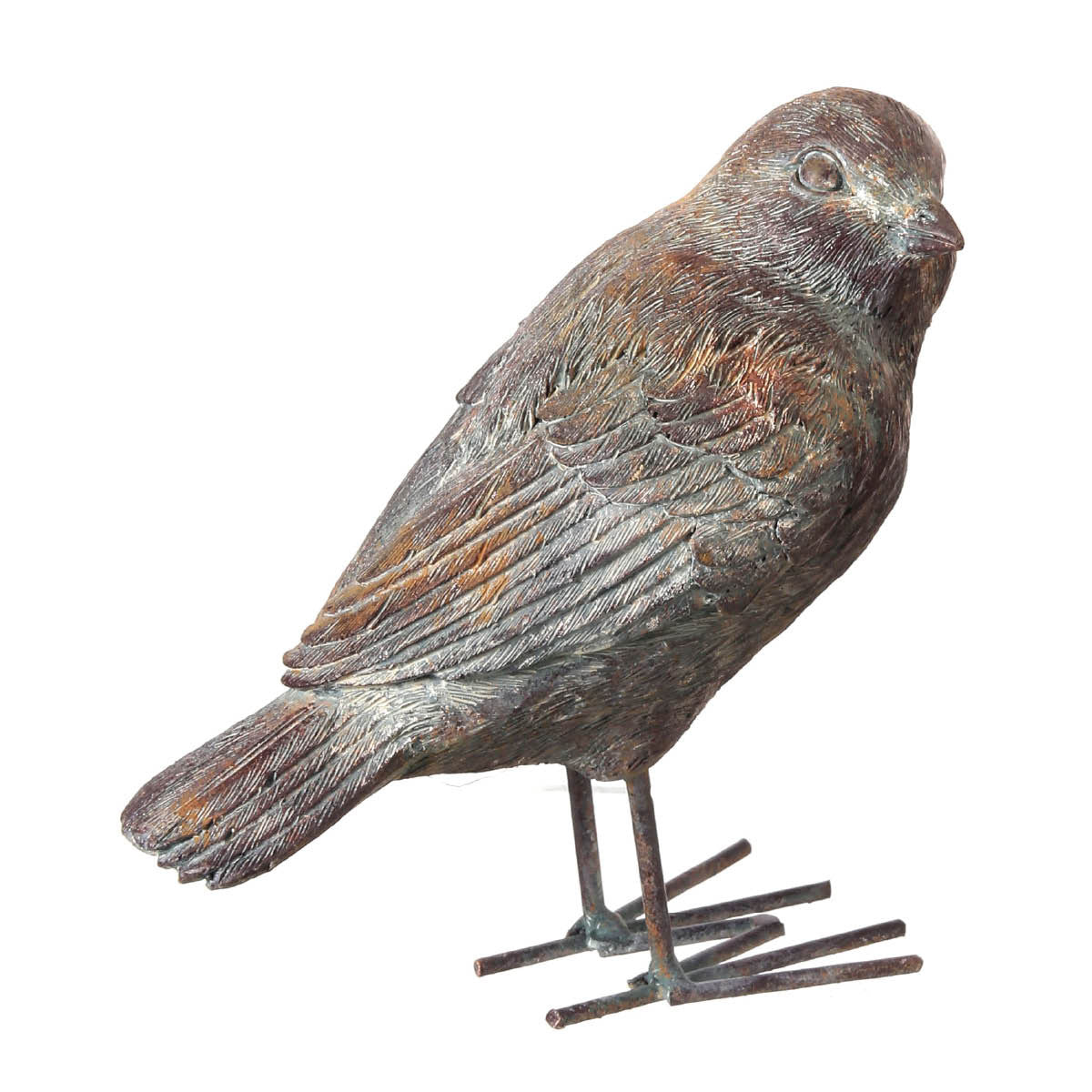 Stylish Resin Birds in 2 Poses