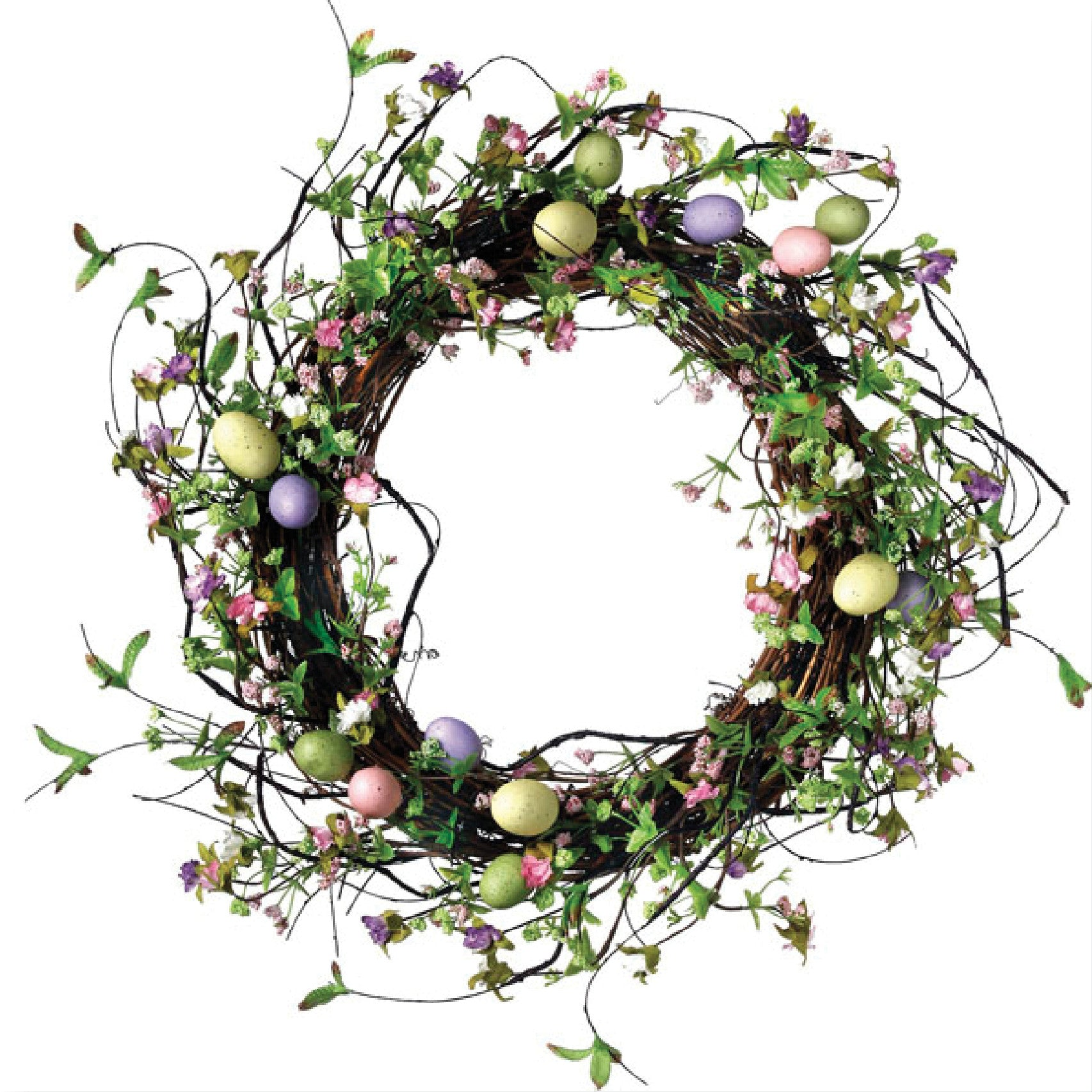 Wildflower Egg Wreath!