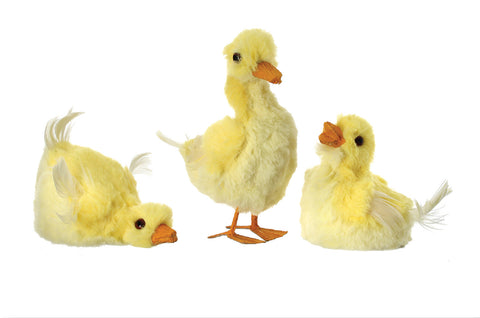 Adorable Faux Fur Ducklings in 3 styles!