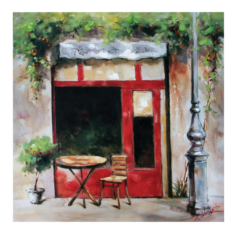 Canvas Cafe Painting