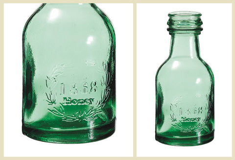 Heavy Glass Marked with 1868 Honey
