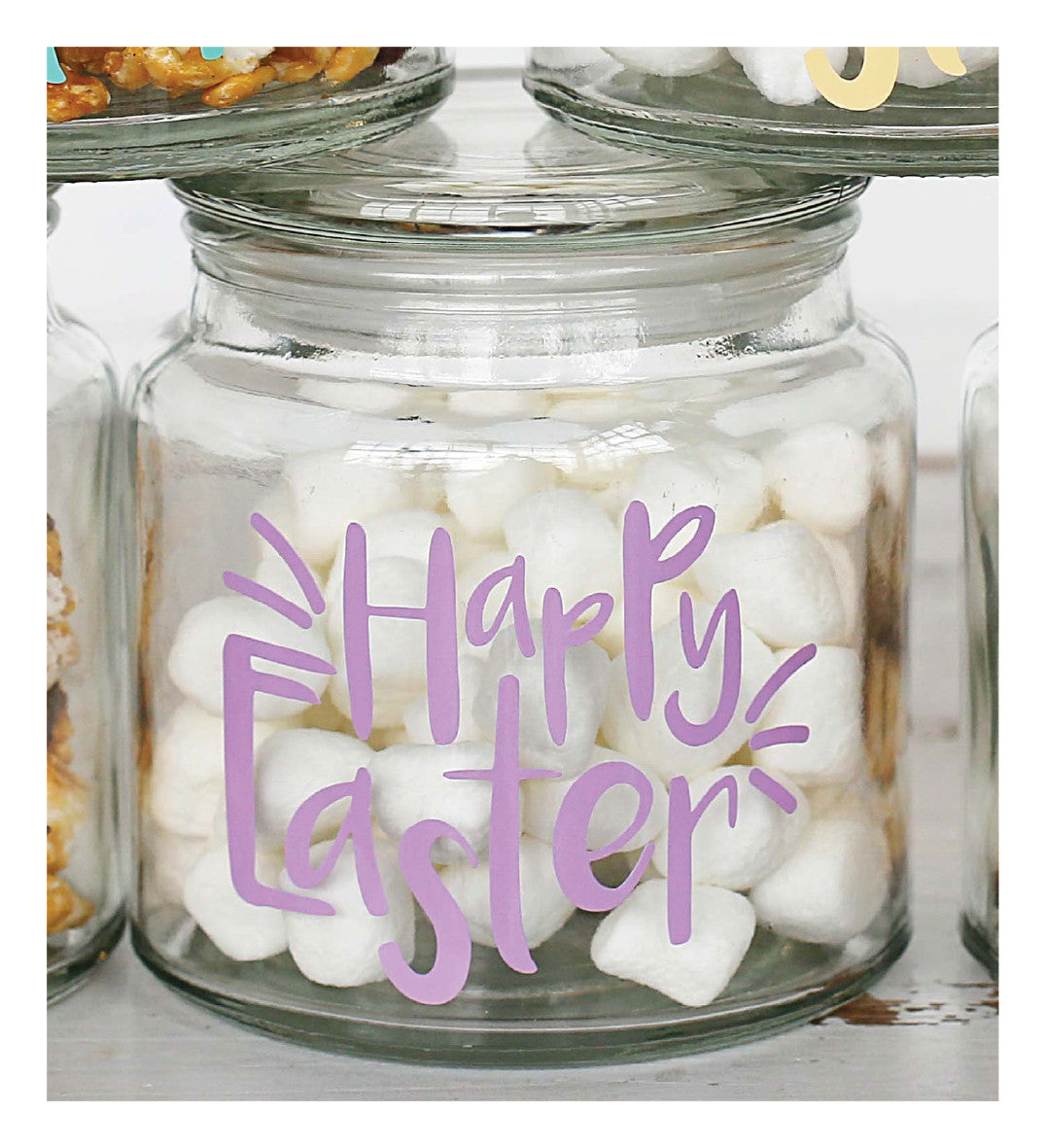 Happy Easter Lidded Jars!