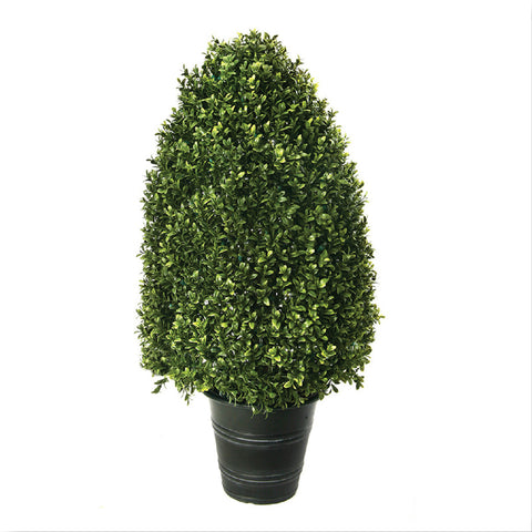 "33"" Plastic Dome Boxwood Topiary!"