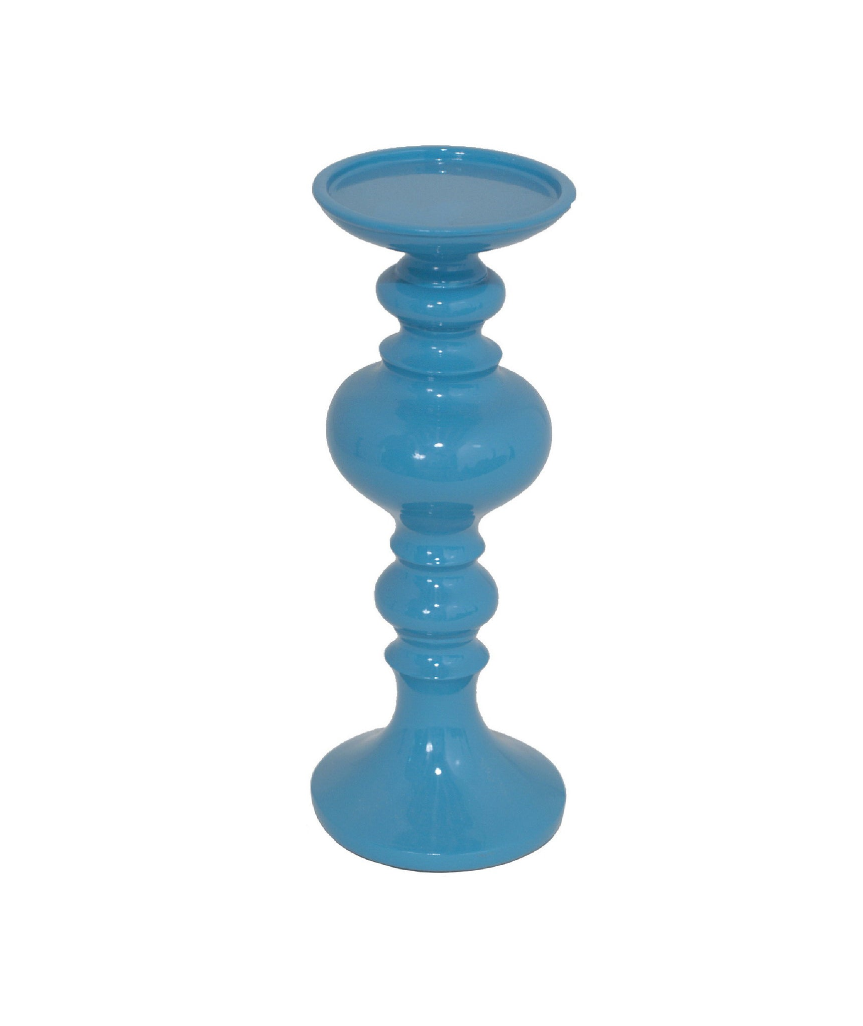 Perfect Blue Resin Candle Holders!