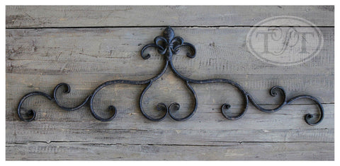 Wrought Iron Wall Décor in 2 Styles