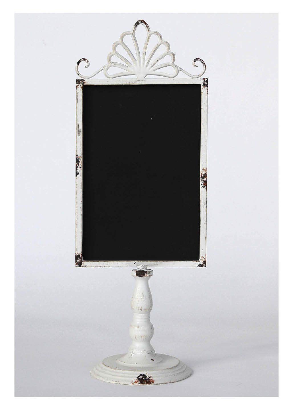 Standing Chalkboard in Antique White