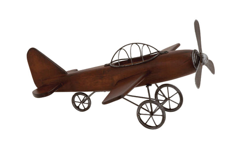 Triple Prop Wooden Airplane!