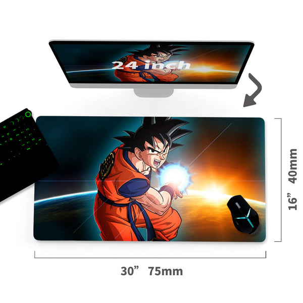 "Dragonball Custom Mouse Pad 30""x16""1"