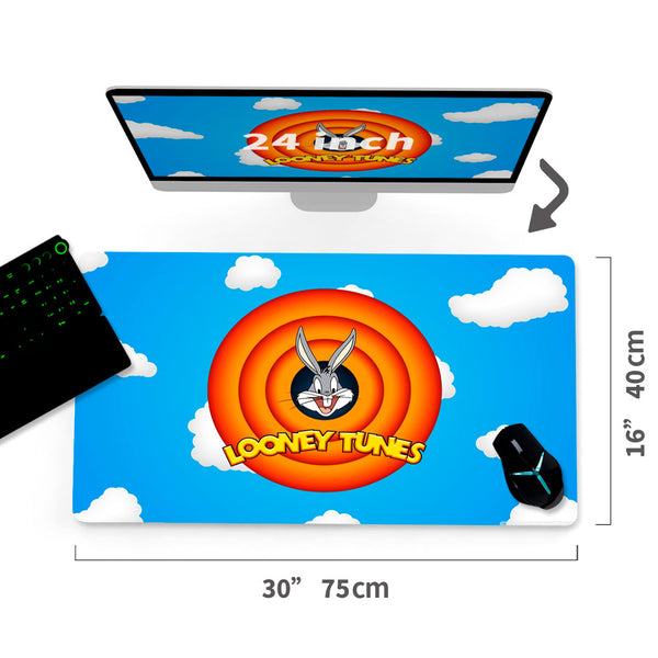 "Custom Looney Tunes A/C Mouse Pad 30""x16"" - MyCustomMousePad"