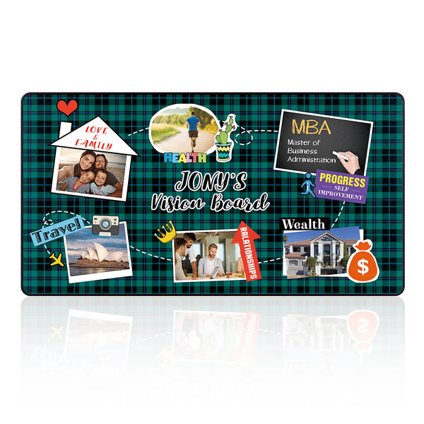 Custom Vision Board Mouse Pad  3