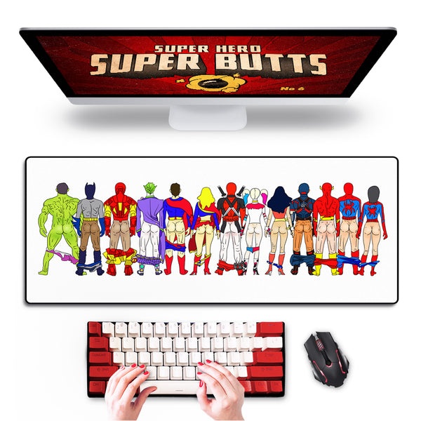 "Super Butts Mouse Pad 31""x12"""