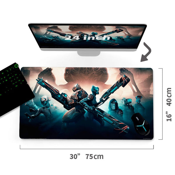 "Custom Warframe Mouse Pad 30""x16""1"
