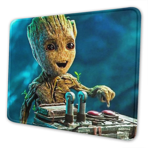 "Custom Medium Size Gaming Mouse Pad 9.5""x8"" Baby Groot - MyCustomMousePad"