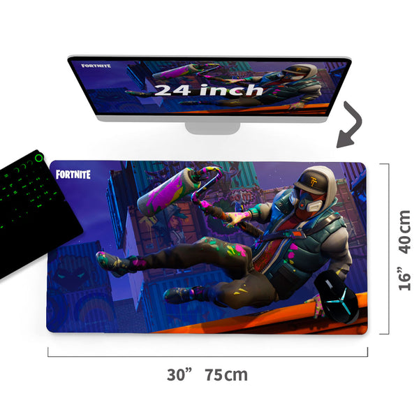 "Custom Fortnite Battle Royale Mouse Pad 30""x16"" - MyCustomMousePad"
