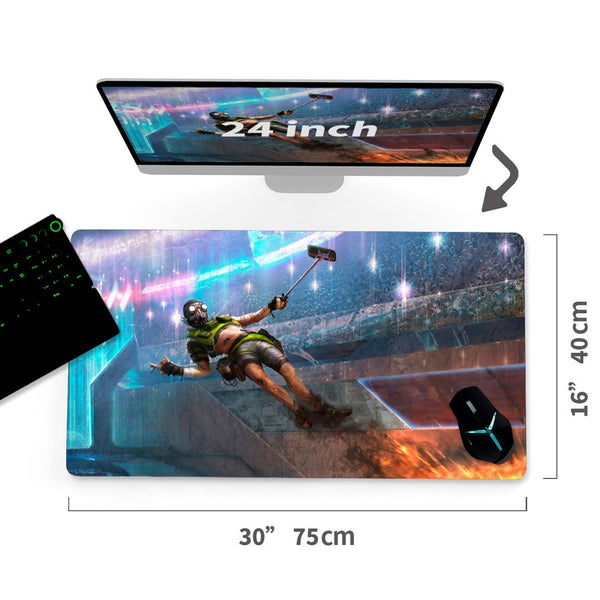 "Custom  Gaming Mouse Pad Apex Legends 30""x16"" 1"