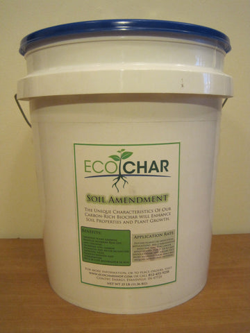EcoChar soil amendment. The world's premier biochar. 25 lbs