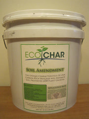 EcoChar soil amendment. The world's premier biochar. 10 lbs