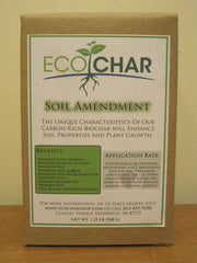 EcoChar soil amendment. The world's premier biochar. 1.25 lb. (box)