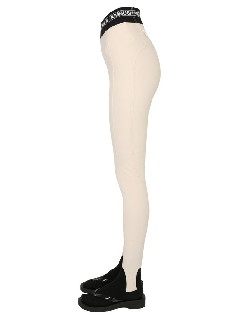 AMBUSH BEIGE LEGGINGS