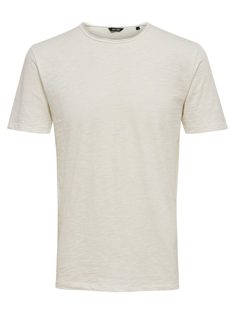 ONLY & SONS WEISS T-SHIRT
