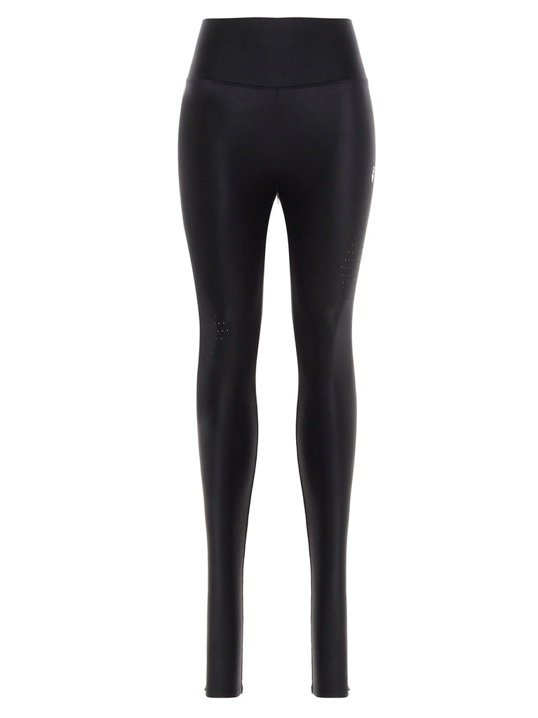 OFF-WHITE SCHWARZ LEGGINGS