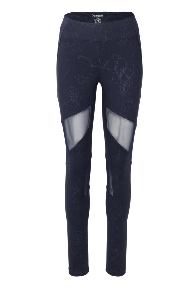 DESIGUAL BLAU LEGGINGS