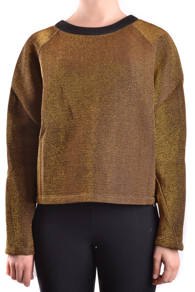TWIN-SET GOLD SWEATSHIRT