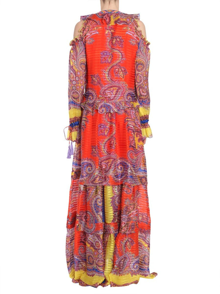 ETRO ORANGE KLEID