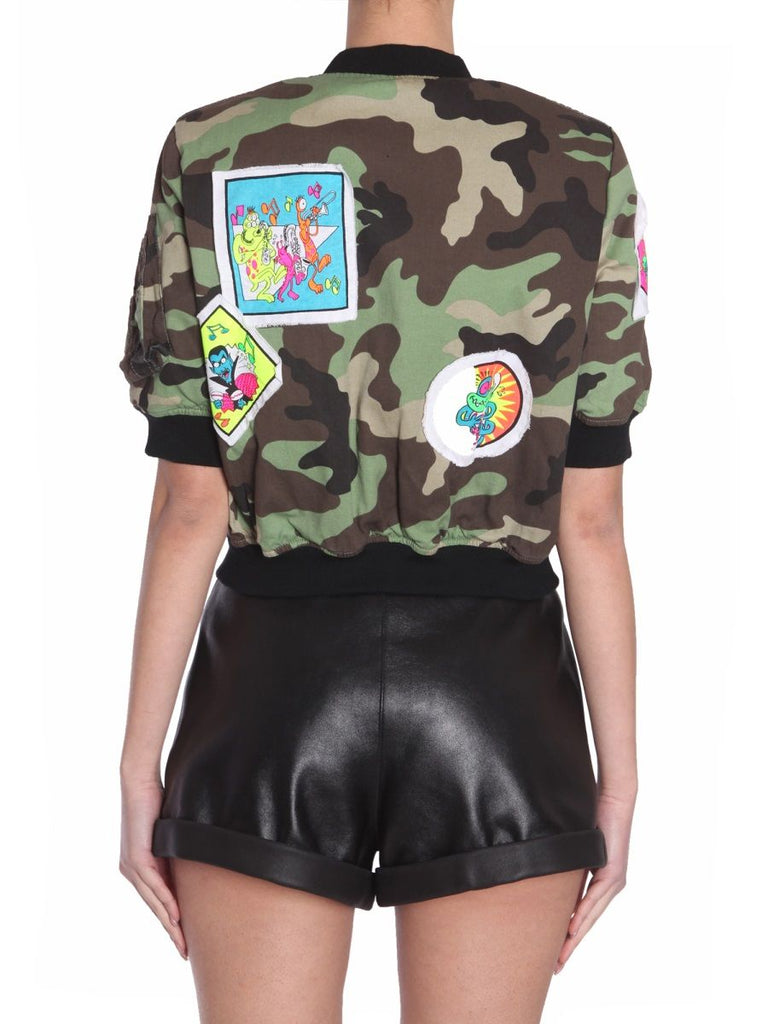 JEREMY SCOTT MULTICOLOUR JACKE