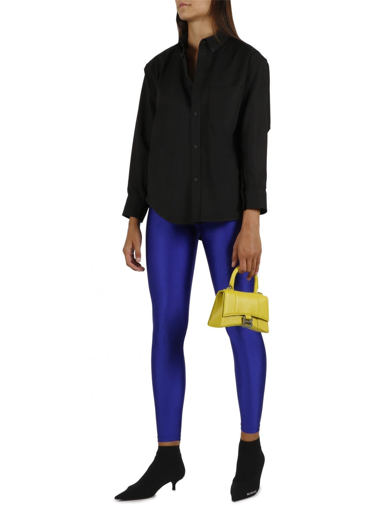 BALENCIAGA BLAU LEGGINGS