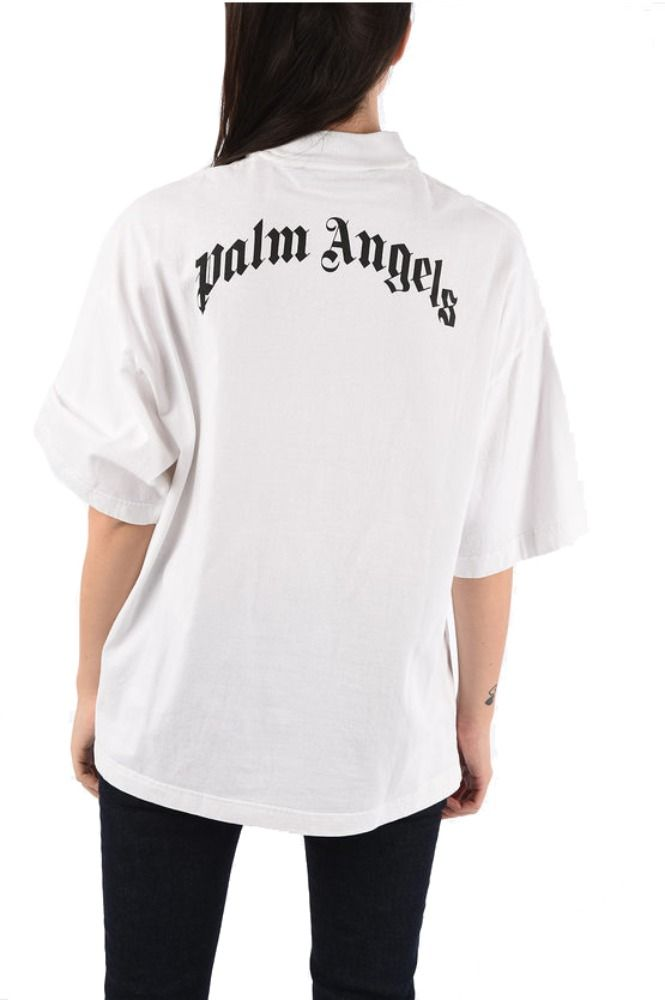 PALM ANGELS WEISS T-SHIRT