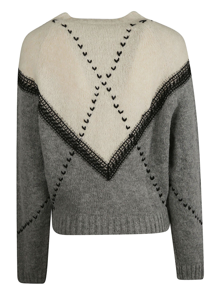 PHILOSOPHY GRAU SWEATER
