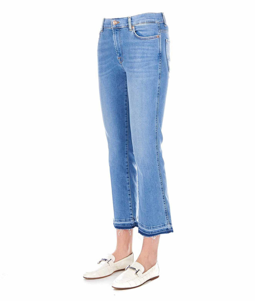 7 FOR ALL MANKIND BLAU JEANS