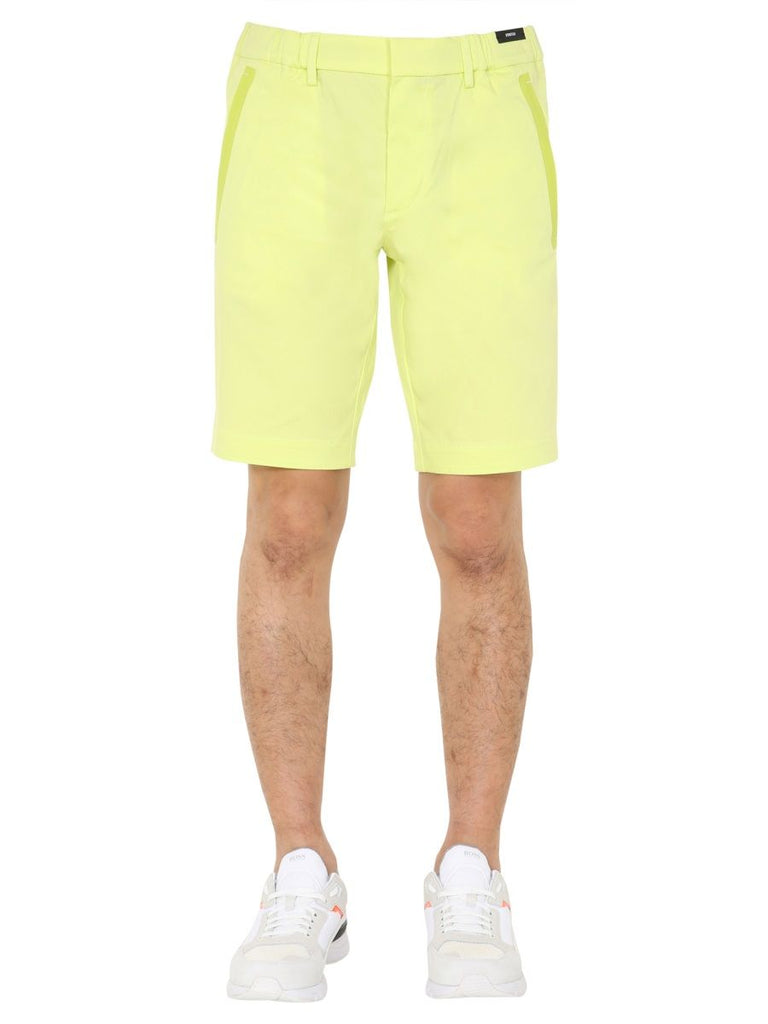 HUGO BOSS GRÜN SHORTS
