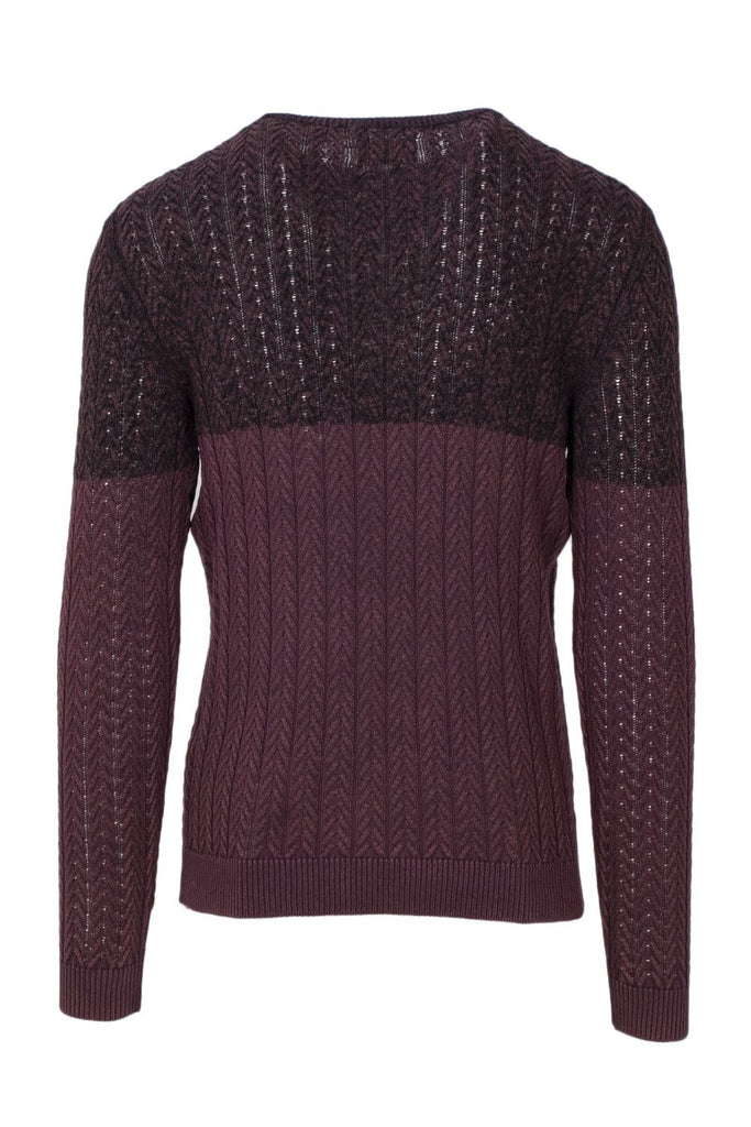ONLY & SONS BORDEAUXROT SWEATER