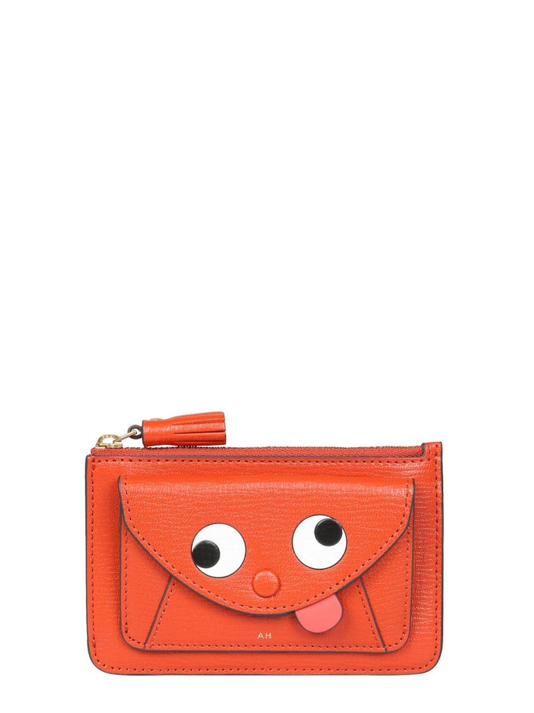 ANYA HINDMARCH ORANGE BRIEFTASCHEN