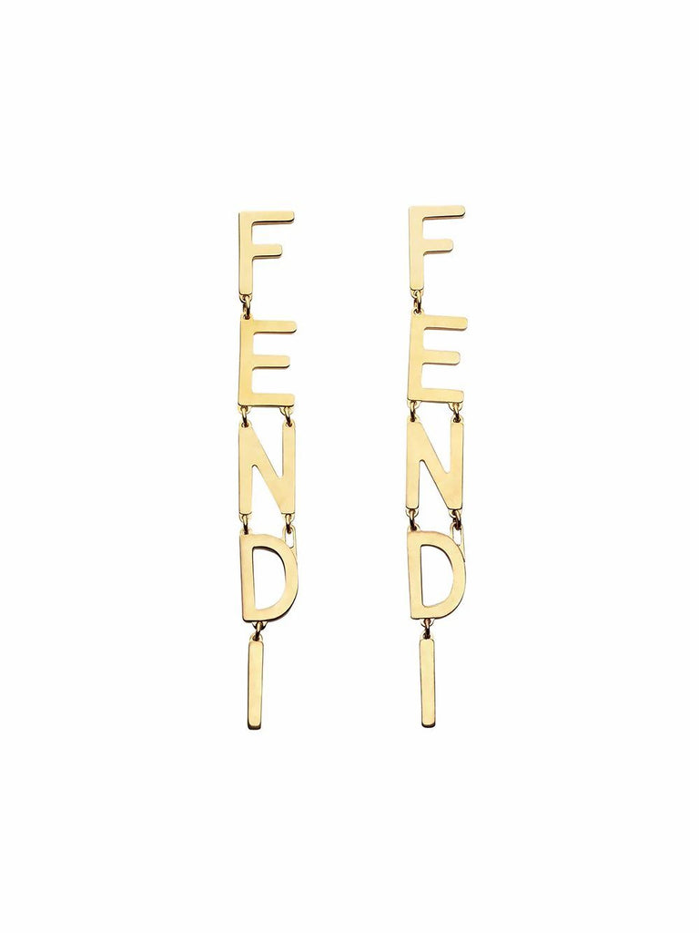 FENDI GOLD OHRRINGE